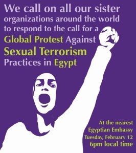 Sexual terrorism in Egypt