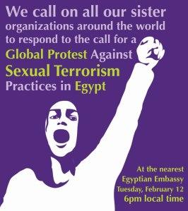 Sexual terrorism in Egypt